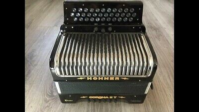 Hohner Corona 2T Extreme New 3 Row ADG melodeon squeezebox accordion accordian