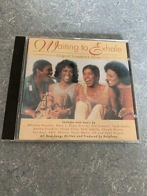 Waiting To Exhale Original Soundtrack CD Canada Label - Ships Fast