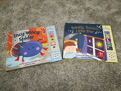 Baby /Toddler Bundle Of Sound / Musical / Nursery Rhymes Books x 2