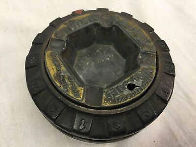 Firestone 40x12 - Tire Ashtray - Metal Insert