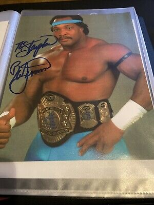 Wwe Wcw Ron Simmons Hand Signed Autographed 8X10 Personalised