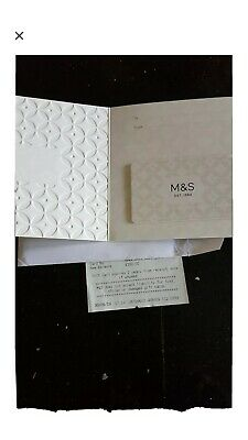 £100 Marks And Spencer Gift Card / Voucher With Receipt