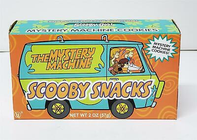 Scooby Doo Snacks Mystery Machine Box Cookies 2000 Cartoon Network New Sealed