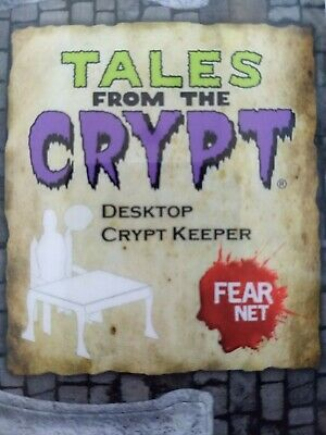 Tales from the Crypt desktop Crypt Keeper (dye cut-minor assembly required NEW!)