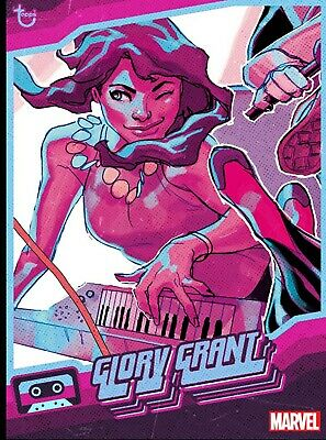 Topps Marvel Collect Digital Musicians Blue Glory Grant