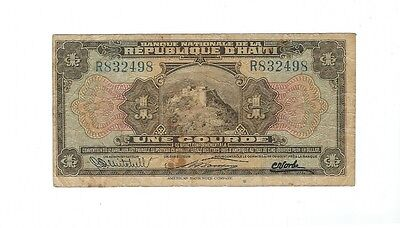 Haiti - One (1) Gourde  - 1924