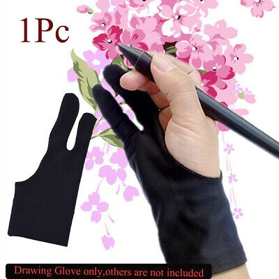 Two Finger Artist Mittens Graphics Tablet Drawing Glove Painting Supply