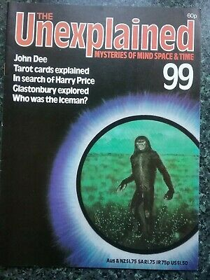 The UNEXPLAINED MAGAZINE  N0 99