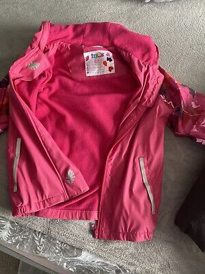 Lupilu Girls 6-8 Waterproof Coat Pink