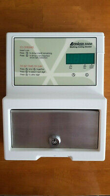 Coin operated, electricity prepayment meter with digital display