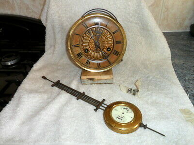 vienna wall clock works and pendulum