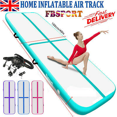 3M 4M 5M 6M Air Track Floor Inflatable Airtrack Gymnastics Tumbling Mat + Pump