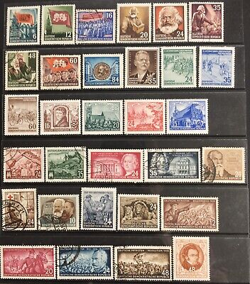 Germany (DDR) 1953 issues MNH/MLH & Used