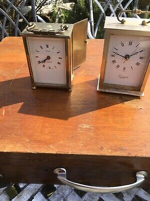 Brass Clock And One Other