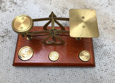 Set Of Brass Scales