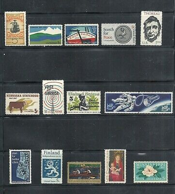 1967 - Commemorative Year Set - US Mint Stamps - LOW PRICES UNTIL SOLD OUT