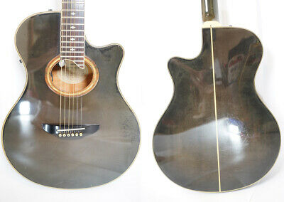 Used YAMAHA APX-10S Black Burst MIJ Acoustic Electric Guitar Piezo PU Rose FB
