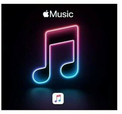 Apple Music 4 Months Gift Card - Digital Delivery 🚚