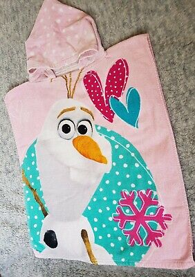Frozen Olaf Hooded Towel