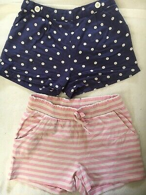 Two Pairs Of Girls Shorts - Age 6/7