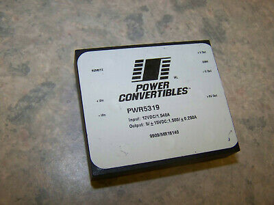 NEW Power Convertibles PWR5319 9909/MR16140 dc/dc converter