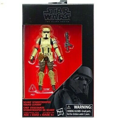 Star Wars Scarif Stormtrooper Squad Leader Action Figure The Black Series New