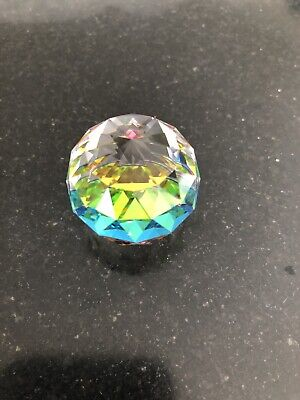 crystal diamond paperweight - Catches Beautiful Colours 💕💕💕💕