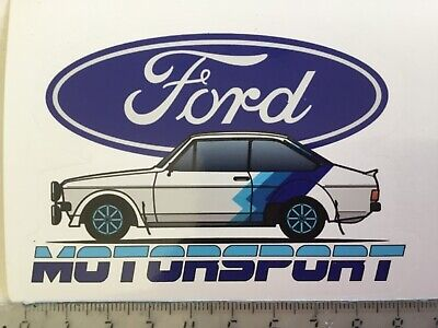 Sticker / Aufkleber, Ford Escort MK2, Ford Motorsport