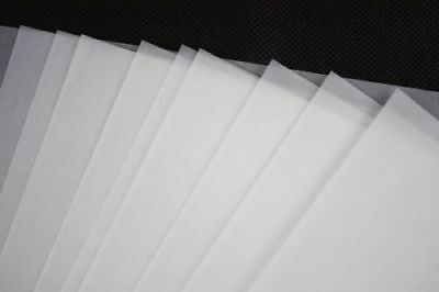 63gsm A4 Tracing Paper Translucent Vellum Hobby Craft Copying Calligraphy Tattoo