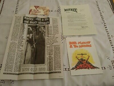 Collection Of Bob Marley Reproduction Memorabilia