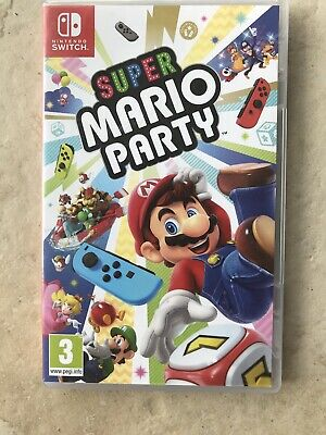 NINTENDO SWITCH Super Mario Party - Used