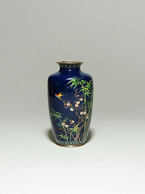 Antique high quality Japanese cloisonne vase