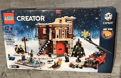Lego Creator Expert Winter Village Fire Station 10263 - Brand New and Sealed