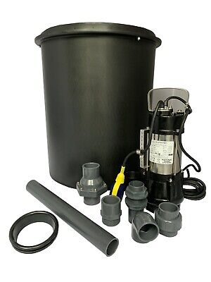 Compact Sewage Station -  CHEAPEST IN THE UK