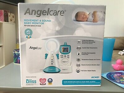 Angelcare AC401 movement and sound baby monitor, never used