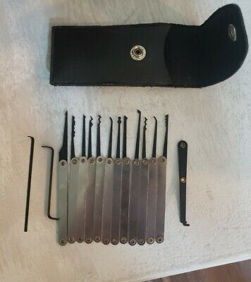 15 PC Lock Pick Kit with case