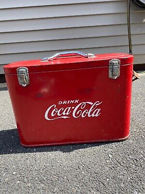 Coca Cola Airline Cooler/Ice Chest [ORIGINAL] (Vintage/Antique)