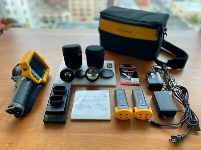 Fluke TI32 Thermal Imager | Infrared Camera with Extra lenses: TELE & WIDE