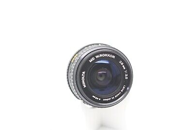 Minolta MD 28mm f3.5 Prime Lens For 35mm Film Cameras (1035250)