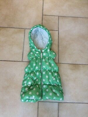 Funky GREEN spotty girls gilette 7-8 years