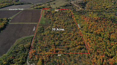 ***Own 39 Acres +/- Of Land In Northern Maine Next To The Canadian Border***