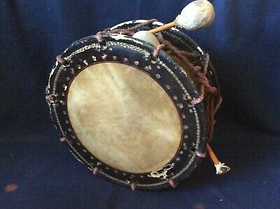 Antique JAPANESE TAIKO DRUM Shimedaiko shime daiko