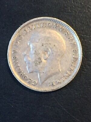 1912 3 Pence Great Britain Silver