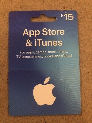 Apple Appstore and iTunes £15 Gift Card