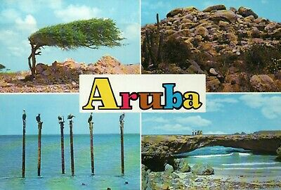 Lot of 9 Postcards of Island of Aruba, Caribbean Netherlands Antilles - Postcard