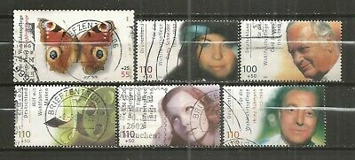 Germany, 6 Various,  Used