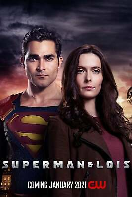 "CW-SUPERMAN AND LOIS 11""x17"" TV SERIES POSTER PRINT #1"