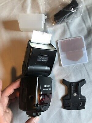 Nikon SB-800 Flash With Box, Soft Case, Stand, 5th battery mount and Gels