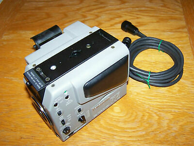 Panasonic System Camera WV-F15E w/WV-AD16A C Mount Adapter and power cable.