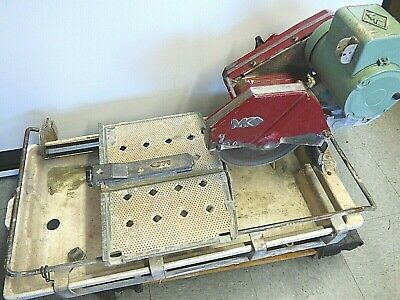 "Mk Diamond Mk-100 1-1/2"" Hp, 10"" Wet Cutting Tile Saw"